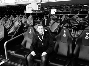 The manager's seat - White Hart Lane