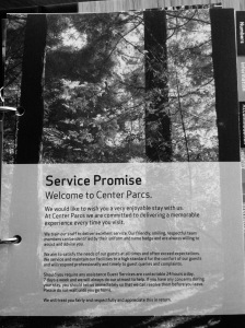 Center Parcs' Service Promise