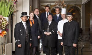 Inside Claridges (Image: BBC)