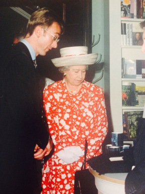 Stephen with Her Majesty The Queen